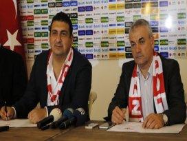 Rıza Çalımbay Antalyaspora imzayı attı