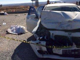 Çorumda feci kaza: 4 ölü, 3 yaralı