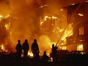 Yangında 104 kişi öldü