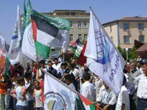 Altınekin Gazzeye kayıtsız kalmadı