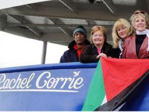 İsrail Rachel Corrie gemisine de el koydu!