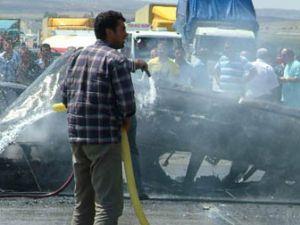 Konya-Ankara yolunda feci kaza