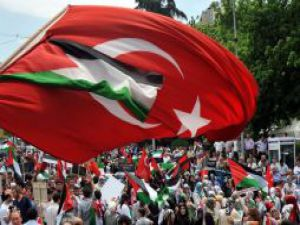 Yüzbinler İsraili protesto etti