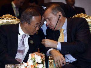 Ban Ki-Mun, Erdoğanı aradı