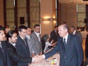 Aydoğan Deveci, açılım programına katıldı