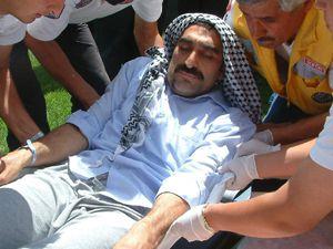 İsrail askarlerinin yaraladığı gönüllü Konyaya getirildi