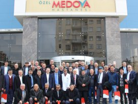 Medova Hastanesi, muhtarları ağırladı