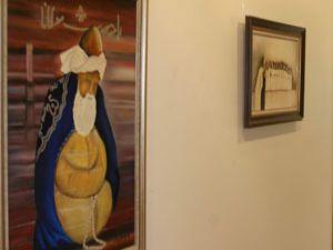 Konyada resim sergisi açıldı