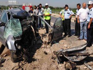 Böyle kaza görülmedi; Aşırı hızla gelen felaket