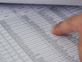Seçmen listeleri askıdan iniyor