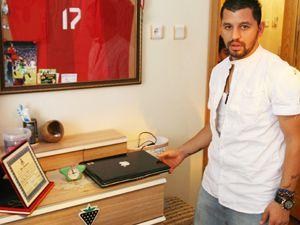 Konyaspor lu futbolcunun ödülü çalındı