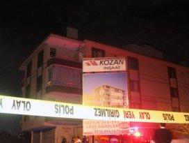 Konyada duvar çökünce bina boşatıldı!