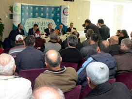 Meram'da Halk Toplantıları sürüyor