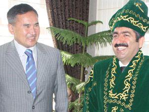 Güney Kazakistan Valisi Konya da