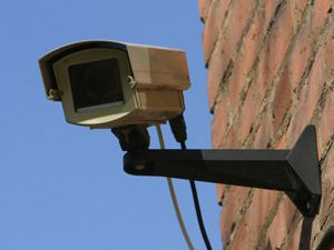 Müslüman mahallesine terör kamerası