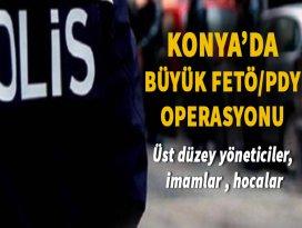 Konyada FETÖ/PDY operasyonu