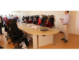 Lise öğrencileri KOSKİyi ziyaret etti