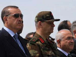Erdoğan ve Başbuğ sınıra uçtu!