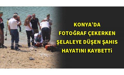 Fotoğraf çekerken şelaleye düşen kişi öldü