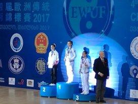 Konyalı sporcu şampiyonada Avrupa 2.si oldu