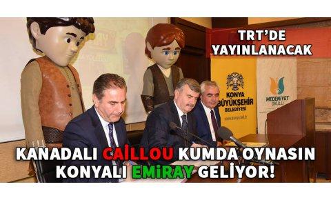 Çizgi film kahramanı Konyalı Emiray yakında TRTde