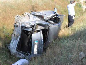 Konya yolunda kaza; 3 ölü