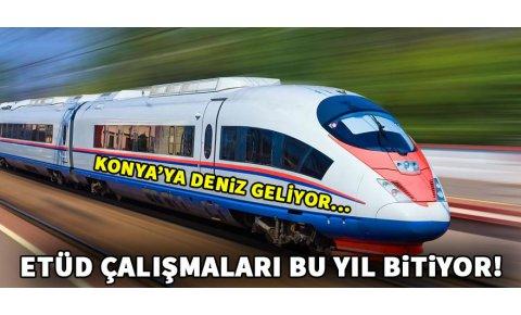 Konya-Antalya YHT etüd çalışmaları bu yıl bitiyor!