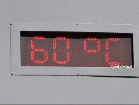 Termometre 60 dereceyi gösterdi!