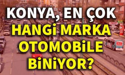 Konyada en çok tercih edilen otomobil markası