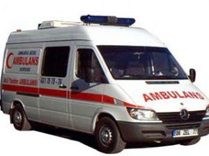 Cihanbeyli de trafik kazası:1 ölü, 3 yaralı
