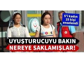 Konyadaki uyuşturucu operasyonunda 5i kadın 25 gözaltı