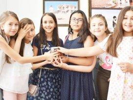 Çocuklardan ihtiyaç sahipleri için hediyelik projesi