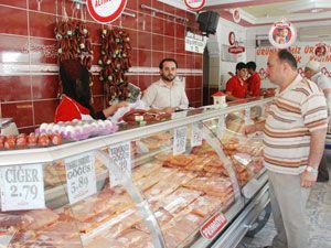 Sıcak havalar et satışını artırıyor