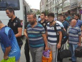 Samsun'da FETÖ'den 6 tutuklama, 11 adli kontrol