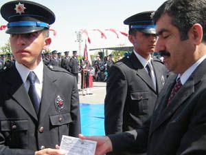 Ereğli Polis Okulunda mezuniyet sevinci