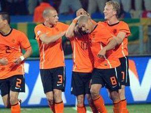Hollanda Samba yaptı, Brezilya baktı!