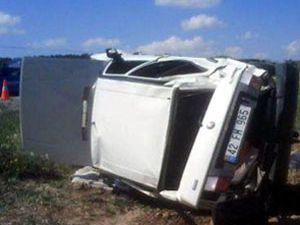 Beyşehirde trafik kazası:3 yaralı
