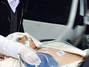 Düğünde maganda kurşunuyla yaralandı