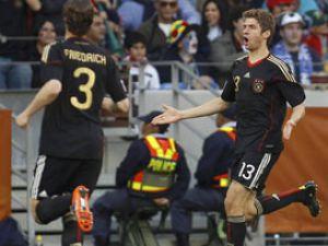 Almanya Arjantini dağıttı; 4-0