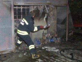 Konya'da ekmek teknesi yandı!