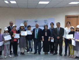 Kulu Belediyesi projesine teşekkür belgesi