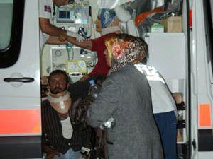 Konyada tafik kazası:7 yaralı