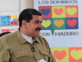 Venezuela lideri Madurodan Türkiye açıklaması