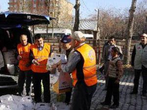 Kırgızistana yardım eli