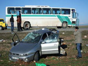 Konyada feci kaza: 3 ölü 1 yaralı
