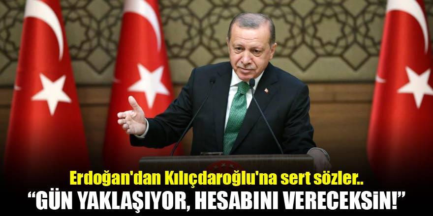 Erdoğandan Kılıçdaroğluna sert sözler..