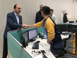Başkan Altay, 2018'i çalışanlarla karşıladı
