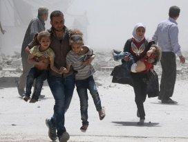 Suriyede geçen yıl 10 binden fazla sivil öldürüldü