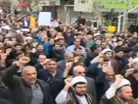 İranda tehlikeli gelişme! Onlar da sokağa çıktı