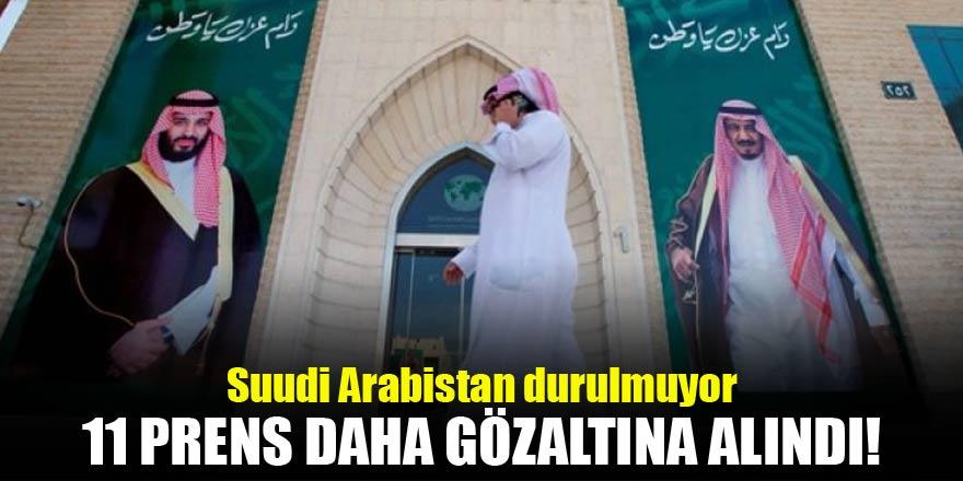 S.Arabistanda 11 prens daha gözaltına alındı